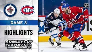 Second Round, Gm 3: Jets @ Canadiens 6/6/21 | NHL Highlights