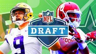 Cowboys and Brady big winners, Patriots and Rodgers lose big in NFL Draft night 1 | SportsPulse