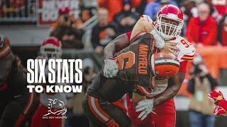 Six Stats to Know for the Divisional Round | Chiefs vs. Browns