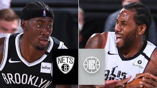 Brooklyn Nets vs. LA Clippers [FULL HIGHLIGHTS] | 2019-20 NBA Highlights