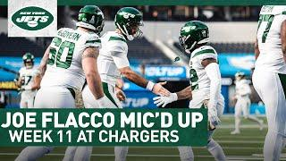 Mic'd Up: Joe Flacco Jokes With Joey Bosa During Crunch Time | New York Jets | NFL