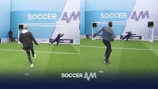 Goalkeeper makes TWO great saves but can West Ham fans leave with the money!? | Soccer Am Pro Am