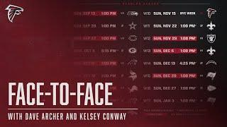 Breaking down the 2020 Falcons schedule | Falcons Face-to-Face