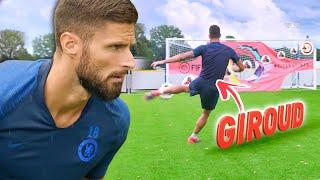 HOW TO SCORE THE PERFECT VOLLEY!  FT. OLIVIER GIROUD