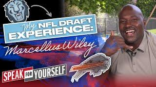 Marcellus Wiley's NFL Draft Experience: From the Ivy League to the NFL | SPEAK FOR YOURSELF