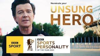 Sports Personality Unsung Heroes feature in Rick Astley video   BBC Sport