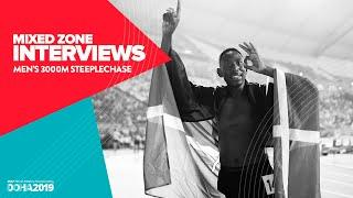 Men's 3000m Steeplechase Interviews | World Athletics Championships Doha 2019