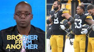 Steelers' Pouncey joins Villanueva in changing name on helmet | Brother From Another | NBC Sports