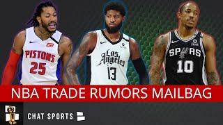 NBA Trade Rumors Mailbag: Paul George to Mavericks? Derrick Rose to Lakers? DeMar Derozan to Hawks?