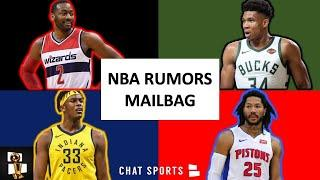 NBA Rumors: Myles Turner Trade? Derrick Rose To LA? Giannis Free Agency + John Wall Return | Mailbag