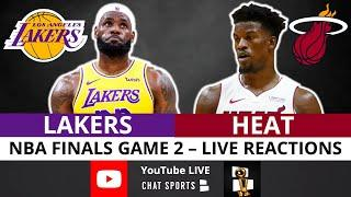 Lakers vs. Heat NBA Finals Game 2 Live Streaming Watch Party & Play-By-Play Reaction