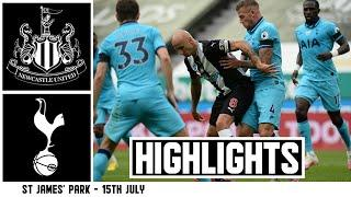 Newcastle United 1 Tottenham Hotspur 3 | Premier League Highlights