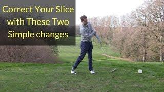 HOW TO CORRECT A SLICE IN GOLF