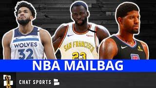 NBA Rumors: Paul George Trade, Warriors Trade Rumors, Karl-Anthony Towns Trade Rumors | MAILBAG