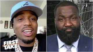 Kendrick Perkins confronts Quavo over Twitter jabs | First Take