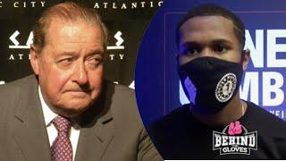 """Bob has NO INTENTIONS doing Business!"" Devin Haney on Arum comment/Gamboa/Tank Davis/ Ryan Garcia"