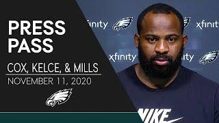 """Fletcher Cox: """"We'll be Ready to Roll on Sunday""""   Eagles Press Pass"""