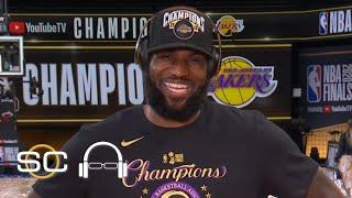 LeBron James talks winning NBA title with Lakers | SC with SVP