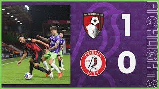 HIGHLIGHTS   Late goal denies Robins a point   AFC Bournemouth 1-0 Bristol City