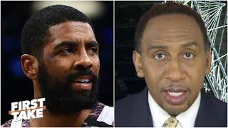 Stephen A. is disappointed in Kyrie Irving's perceived shot at LeBron | First Take