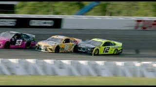 Exclusive Video: Watch Ryan Blaney make contact with Kyle Busch | NASCAR Cup Series