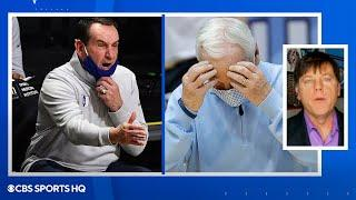 Bracketology: Duke and UNC FIRST FOUR OUT [NCAA TOURNAMENT] | CBS Sports HQ