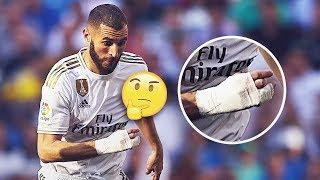 The reason why Benzema has played with a bandage on his hand for the last year | Oh My Goal