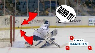 NHL Worst Plays Of All-Time: 197 Foot Goal! | Steve's Dang-Its