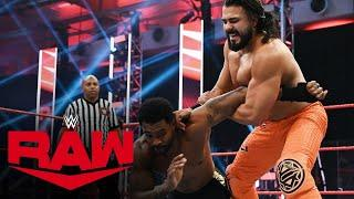 The Street Profits vs. Andrade & Angel Garza: Raw, July 20, 2020