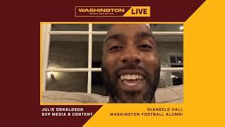 DeAngelo Hall 'Can't Wait To Get Going'