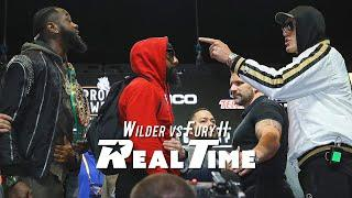 Tyson Fury Mic'd Up, What was Really Said with Wilder During Crazy Face off   REAL TIME - Ep. 8
