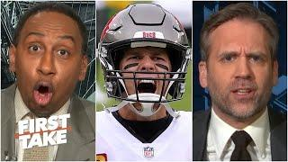 Stephen A. blasts Max during a Tom Brady debate | First Take