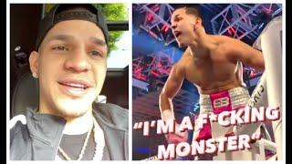 'I'M A F****** MONSTER!' - EDGAR BERLANGA REACTS TO 15th FIRST ROUND KO IN A ROW & VIRAL CELEBRATION