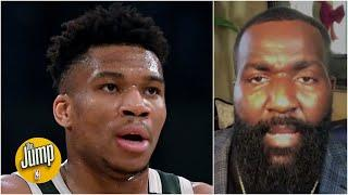 Giannis' 'top player' comments prove he's not ready to be a No. 1 guy - Kendrick Perkins | The Jump