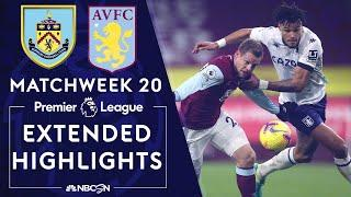 Burnley v. Aston Villa | PREMIER LEAGUE HIGHLIGHTS | 1/27/2021 | NBC Sports