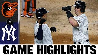 Luke Voit belts two homers in Yankees' win | Orioles-Yankees Game 2 Highlights 9/11/20