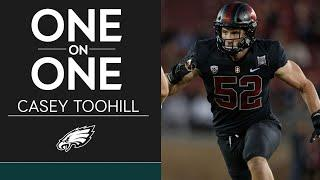 Getting to Know Eagles 2020 Draft Pick Casey Toohill | Eagles One-On-One