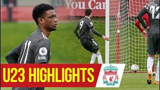 U23 Highlights: Liverpool 3-6 Manchester United | The Academy