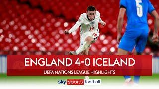 Foden scores twice as England thrash Iceland! | England 4-0 Iceland | UEFA Nations League Highlights