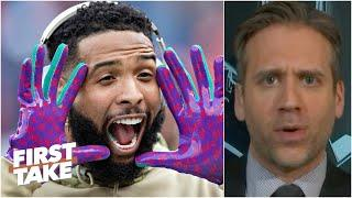 Max Kellerman is skeptical about Odell Beckham's predictions for a big season | First Take