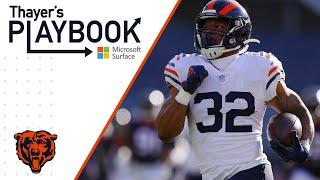 David Montgomery becoming a centerpiece for Bears offense | Thayer's Playbook | Chicago Bears