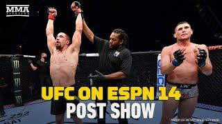 UFC on ESPN 14 Robert Whittaker vs. Darren Till Post Show