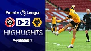 Early strikes seal Wolves win over Blades | Sheff Utd 0-2 Wolves | Premier League Highlights