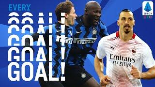 Inter win the Derby d'Italia and Zlatan scores twice for Milan | EVERY Goal | Round 18 | Serie A TIM