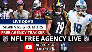 NFL Free Agency LIVE, News, Trade Rumors On Russell Wilson & Deshaun Watson + Latest Signings