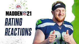 Metcalf, Wilson, and More Madden 21 Ratings Revealed | Will Dissly Reacts to Seahawks Madden Ratings