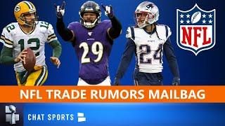 NFL Trade Rumors On Aaron Rodgers, Earl Thomas & Stephon Gilmore + Top 2020 NFL MVP Candidates | Q&A