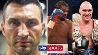 Reflecting on his fights with Tyson Fury & David Haye | Wladimir Klitschko's Story! | Dr Steelhammer