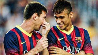 What Lionel Messi said to Neymar to convince him to come back to FC Barcelona   Oh My Goal