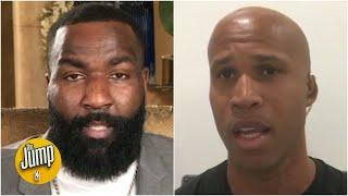 Richard Jefferson and Kendrick Perkins on the protests after the death of George Floyd | The Jump